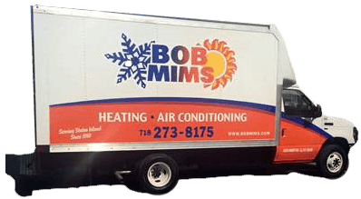 Bob Mims Heating & Air Conditioning Truck