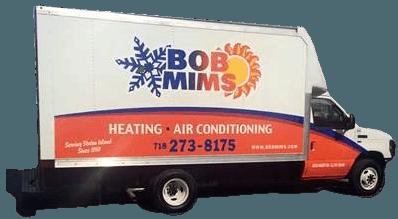 Bob Mims Heating Air Conditioning Truck