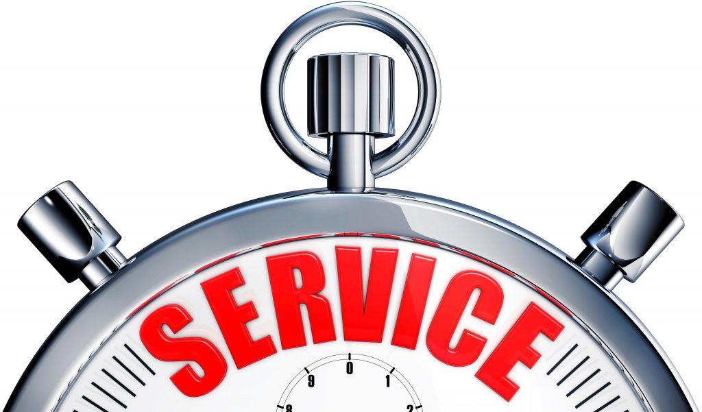 servince-reminder-clock